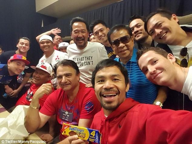 Pacquiao: Hạ Mayweather và hướng tới ghế Tổng thống ảnh 2