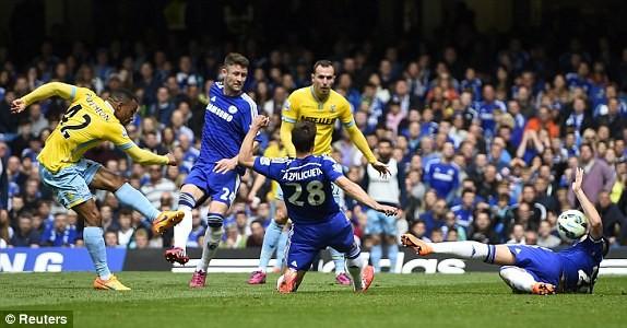 Thắng vừa đủ 1-0, Chelsea sớm lên ngôi vô địch Ngoại hạng Anh ảnh 1