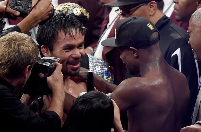"""Mayweather và Pacquiao nói gì sau """"trận đấu thế kỷ""""? ảnh 1"""