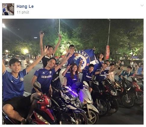Muôn sắc thái mừng vô địch của fan Chelsea ở Việt Nam ảnh 5
