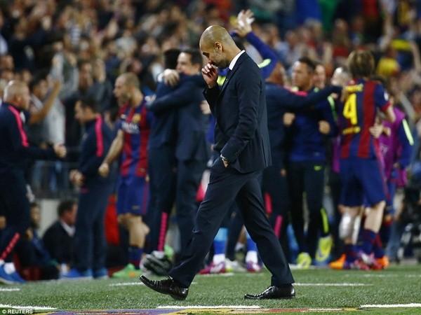 Thua tủi hổ học trò cũ Messi, Pep Guardiola nói gì? ảnh 1