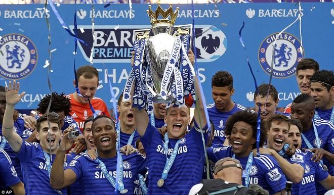 Chùm ảnh Chelsea tưng bừng nhận Cúp vô địch ảnh 3