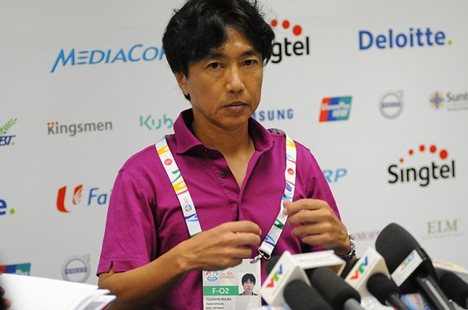 HLV Miura không hài lòng với hàng công U23 Việt Nam ảnh 1