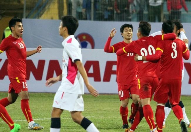 U23 Việt Nam cầm hòa Cerezo Osaka trên sân Hàng Đẫy ảnh 2