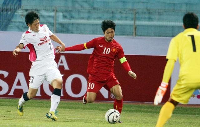 U23 Việt Nam cầm hòa Cerezo Osaka trên sân Hàng Đẫy ảnh 1