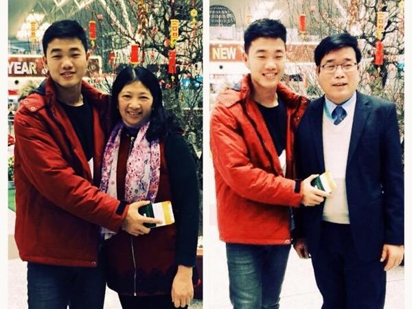 Đón Tết ở Hàn Quốc, Xuân Trường ngậm ngùi gửi lời chúc về gia đình ảnh 1