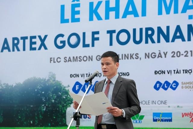 Hơn 300 golf thủ tranh tài ở giải Artex Golf Tournament 2016 ảnh 1