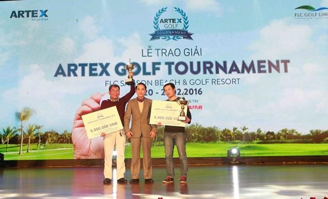 Hơn 300 golf thủ tranh tài ở giải Artex Golf Tournament 2016 ảnh 3