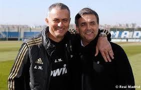 HLV Mourinho khoác vai trợ lý Ricardo Formosinho ở Real