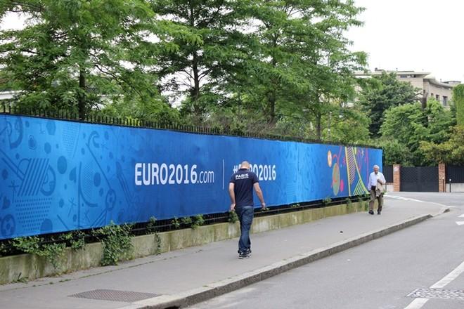 Người dân Paris đang khá thờ ơ với EURO