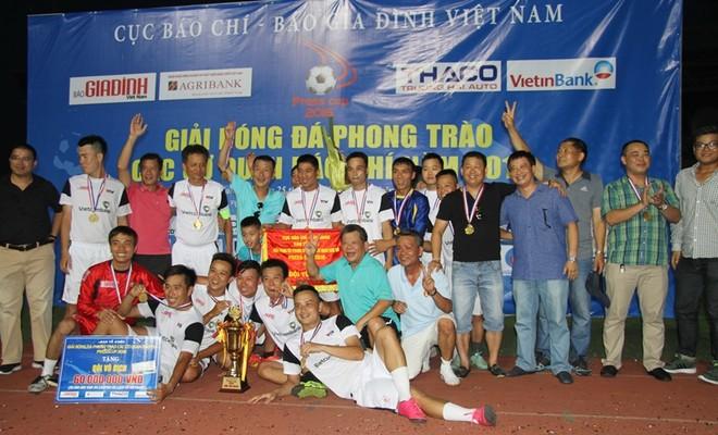 Đội bóng ANTĐ và chiếc Cúp vô địch đầy ý nghĩa