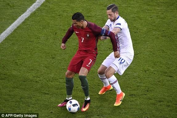 Ronaldo không thể tạo nên dấu ấn ở trận đấu này