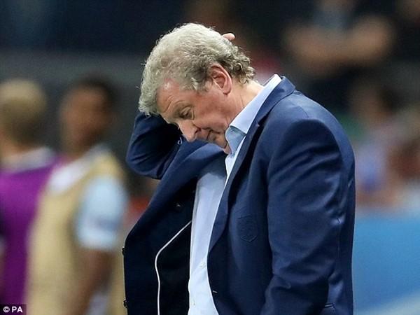 HLV Hodgson bị chỉ trích rất nhiều về chiến thuật ở EURO 2016