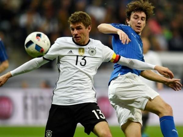 Đức và Italia tạo nên cặp tứ kết được chú ý nhất