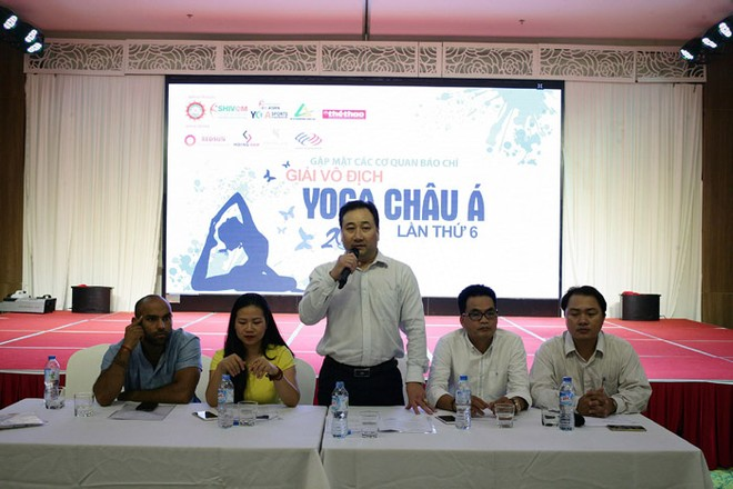 Giải vô địch Yoga châu Á lần thứ 6 được giới thiệu chiều 30-8 tại Hà Nội