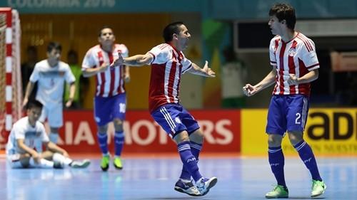 Đội bóng xếp thứ 11 thế giới Paraguay quá mạnh so với Việt Nam