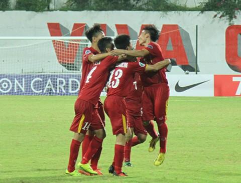 U16 Việt Nam đang đá thuyết phục và tự tin trước những đối thủ mạnh