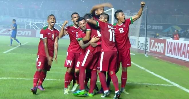 ... nhưng Indonesia mới là đội giành chiến thắng sau cùng