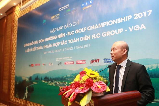 Ông Lưu Đức Quang - Trưởng BTC giải cung cấp thông tin toàn diện về giải đấu