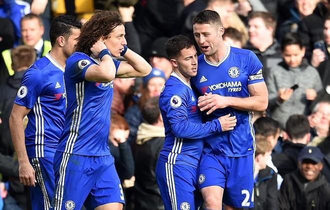 Chelsea băng băng về đích với phong độ rất cao của các trụ cột