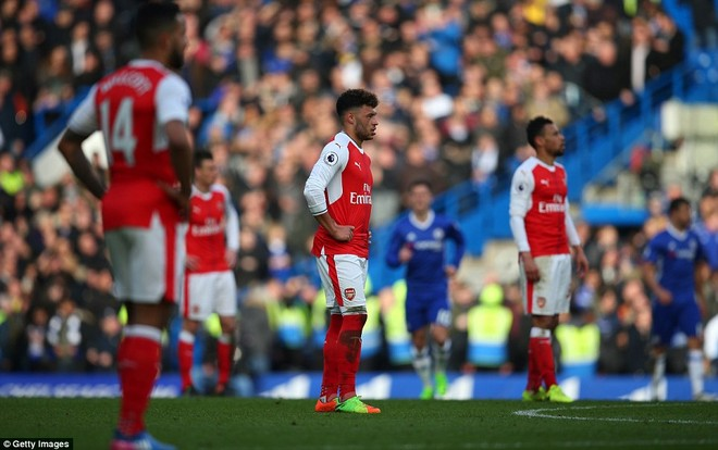 Arsenal bất lực hoàn toàn trong việc cản bước đội bóng áo xanh