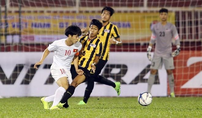 Công Phượng đã có một trận đấu xuất sắc trong màu áo U22 Việt Nam (Ảnh: VNN)