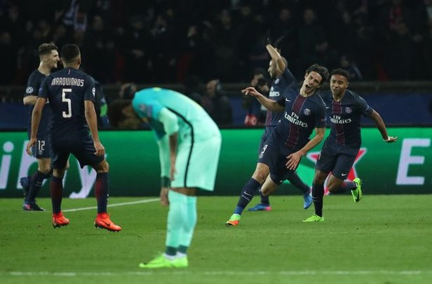 Đây là trận thua đậm nhất của Barca ở vòng knock-out của UEFA Champions League