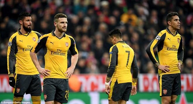 """Arsenal tái lập """"thành tích tồi tệ"""" tại Champions League ảnh 6"""
