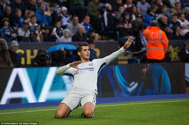 Morata càng ngày càng cho thấy đẳng cấp của mình