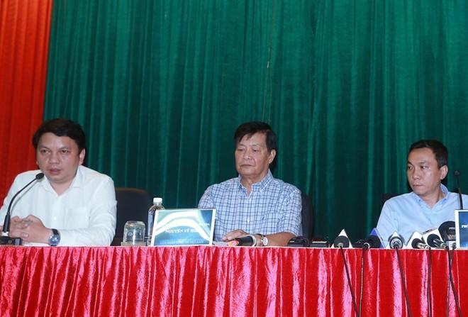 Buổi họp báo của VFF hôm 12-9 không có mặt HLV Hữu Thắng
