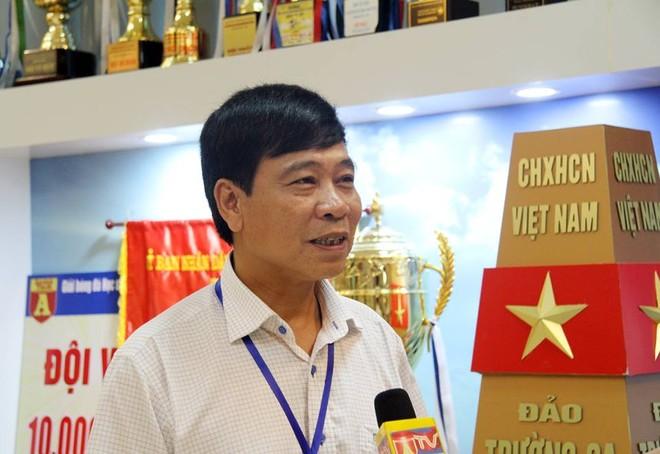 Thầy Ngô Văn Quân - Phó hiệu trưởng trường THPT Trần Quốc Tuấn