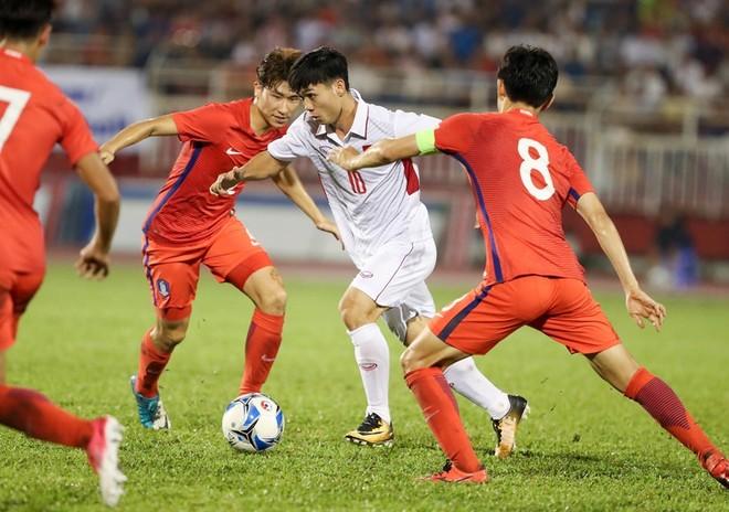 Gặp Hàn Quốc luôn là thách thức lớn với Công Phượng và các đồng đội