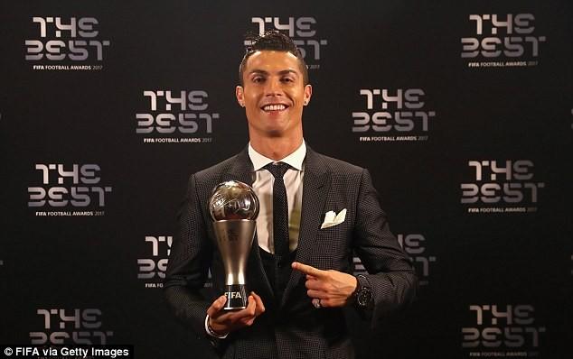 Cris Ronaldo giành giải The Best một cách thuyết phục