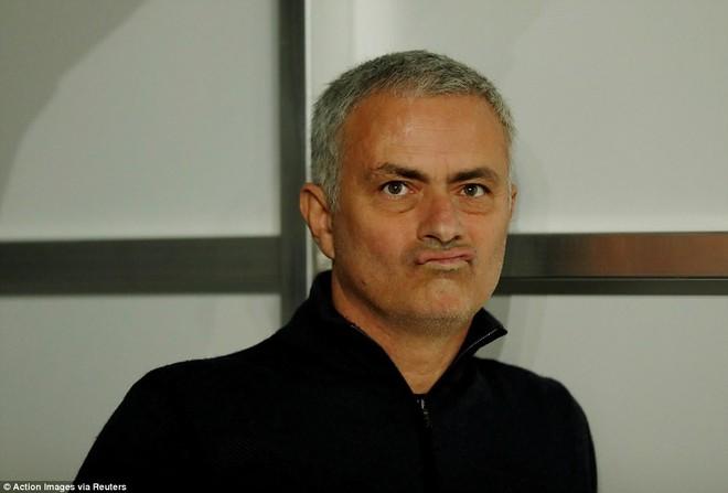 HLV Mourinho rất không hài lòng vì M.U để thua