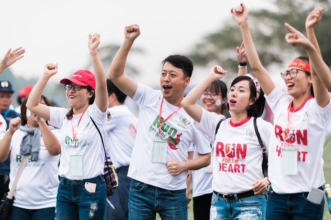 """Tưng bừng ngày hội từ thiện """"Chạy vì Trái tim 2017"""""""