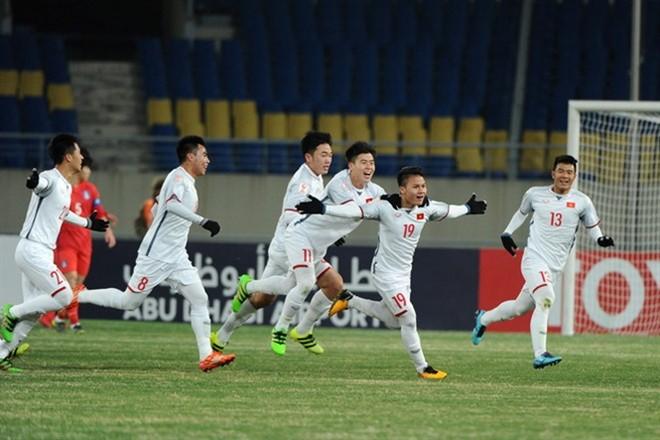 Quang Hải và bàn thắng để đời vào lưới U23 Hàn Quốc