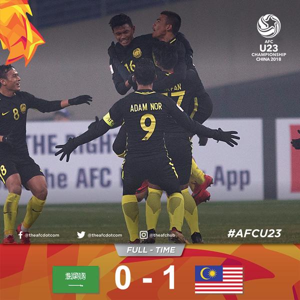 Một chiến thắng kỳ diệu của Malaysia