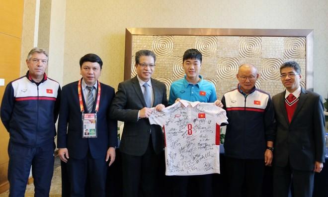 U23 Việt Nam được nhận nguồn động viên tinh thần lớn trước trận bán kết