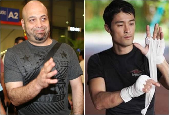 Johnny Trí Nguyễn (phải) có thể đấu với Flores, nhưng phải là trên võ đài