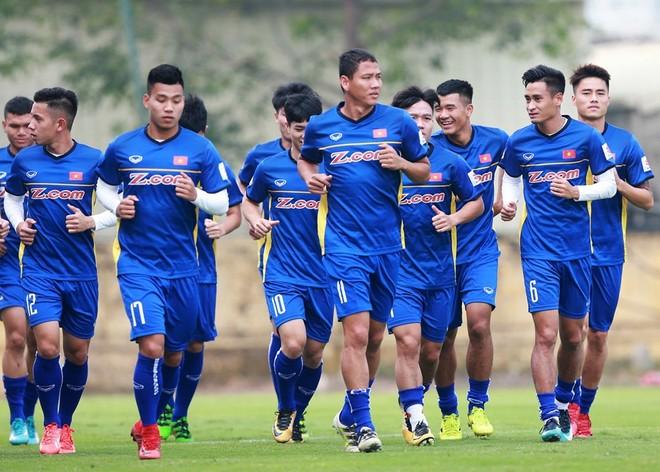 ĐT Việt Nam quyết tâm vô địch AFF Cup sau 10 năm (Ảnh: Vũ Vy)