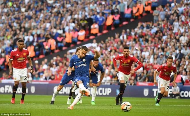 Hazard ghi bàn trên chấm 11m từ sớm cho Chelsea