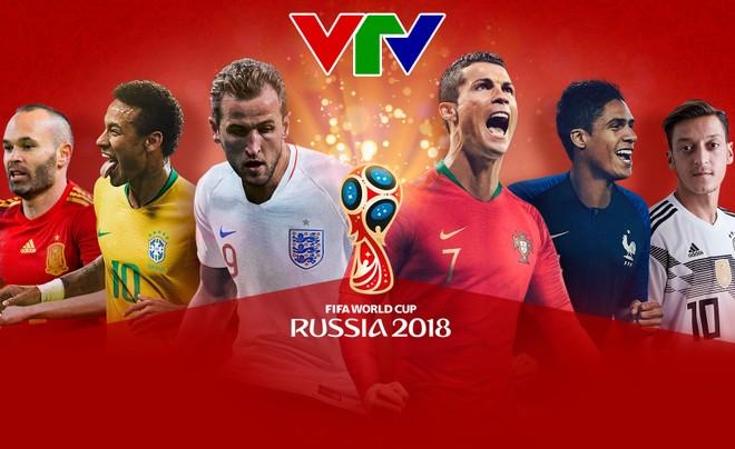 World Cup 2018 sẽ xuất hiện trên các kênh sóng của VTV