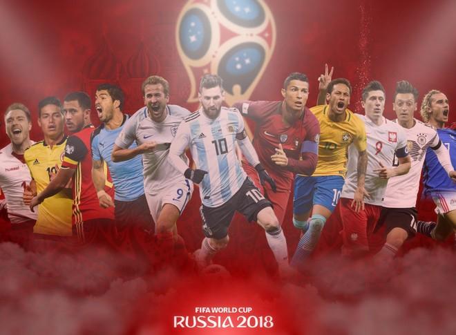 Người hâm mộ đang mong ngóng từng ngày vấn đề bản quyền World Cup 2018