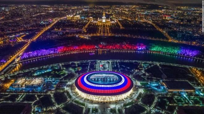 Sân vận động Luzhniki, trái tim của World Cup 2018