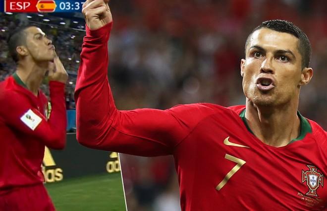 Mỗi hành động nhỏ của Ronaldo cũng đều gây sốt
