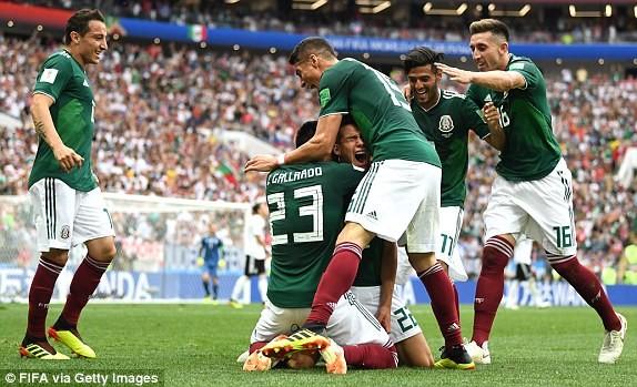 Chiến thắng hoàn toàn xứng đáng cho Mexico