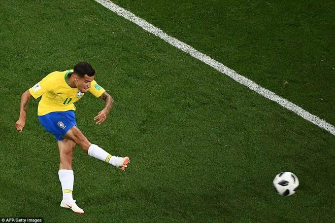 Tuyệt phẩm mở tỉ số của Coutinho