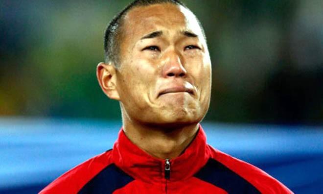 Jong Tae-se khóc tại World Cup 2010