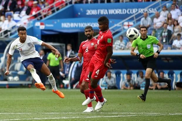 Lingard ghi bàn đầu tiên cho mình tại World Cup