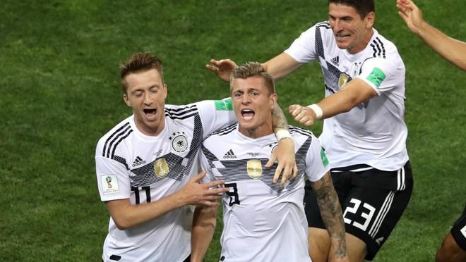 ĐT Đức cho thấy chưa thể gạt họ ra khỏi danh sách ứng cử viên vô địch